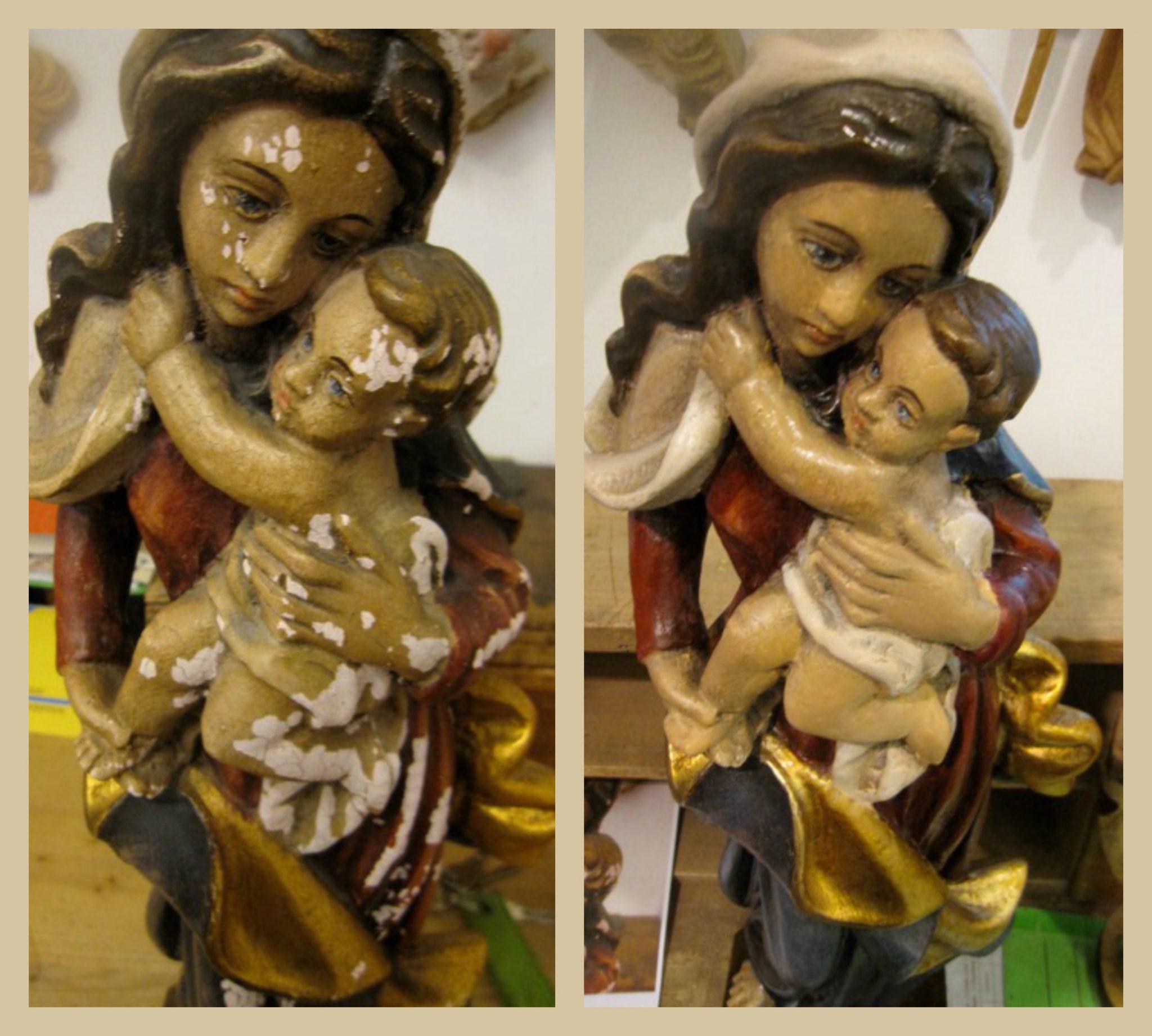 madonna-mit-kind-collage