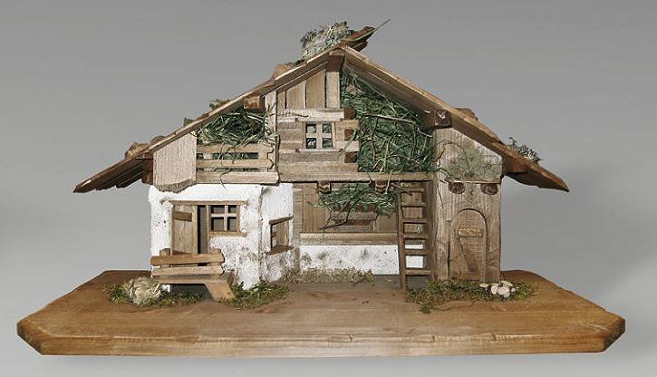 Berchtesgarden Stall - Krippenställe