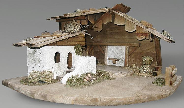Eckstall gemauert - Krippenställe