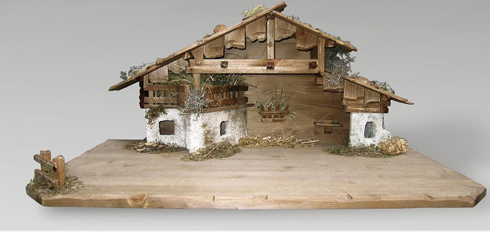 Krippenställe - Neuer St. Oswald Stall